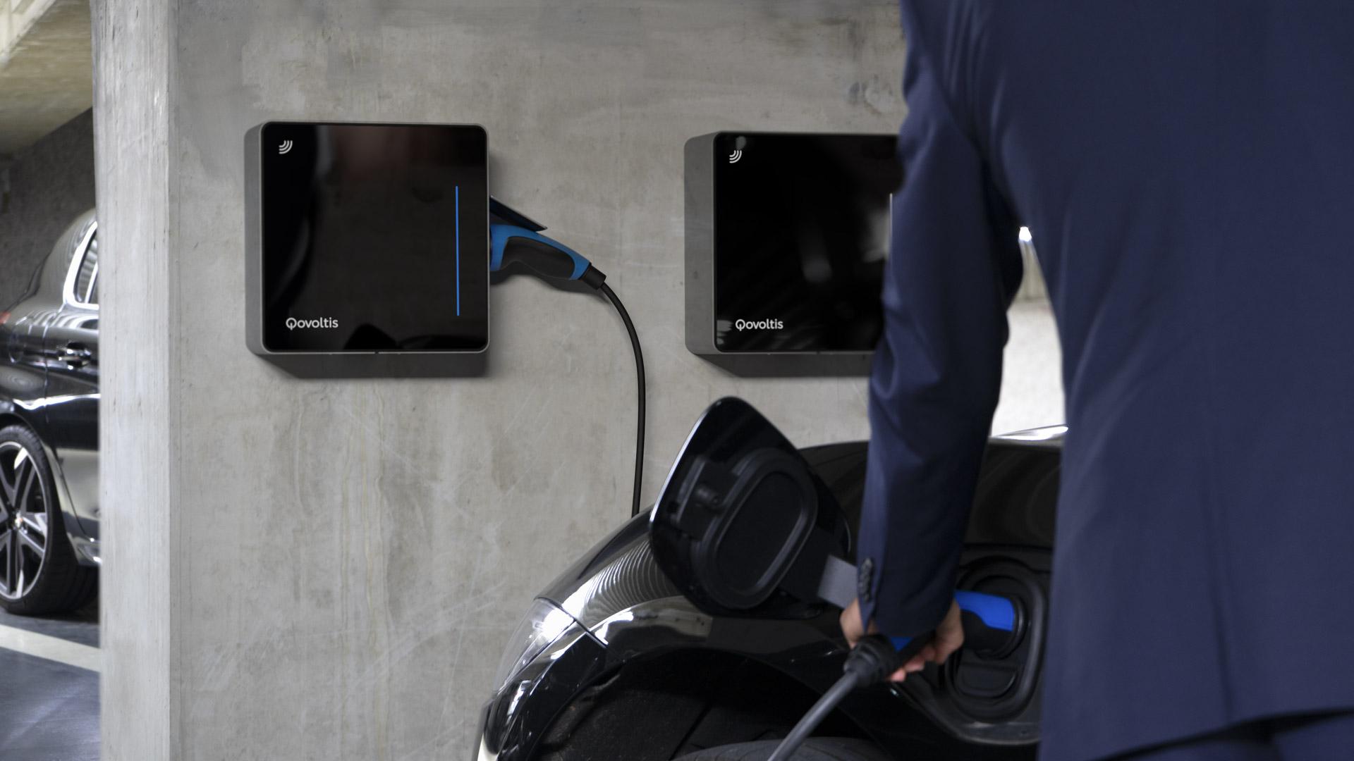 Qovoltis, chargeur électrique pour parkings de copropriétés